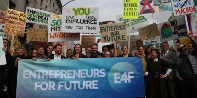 #EntrepreneursForFuture beim globalen Klimastreik