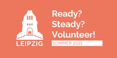 Leipzig, Ready, Steady, Volunteer!