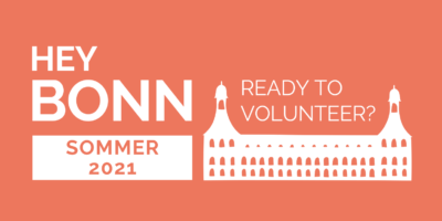 Hey Bonn, Ready to volunteer?